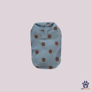 kutya ruha kék macifigurás