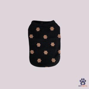 kutya ruha fekete macifigurás